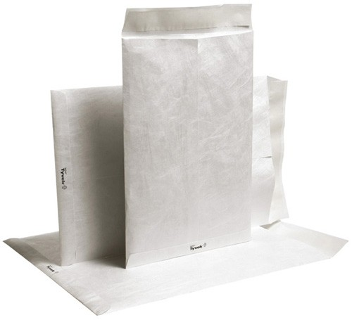Pochettes 229X305 TYVEK® 55g Fenetre 100X50