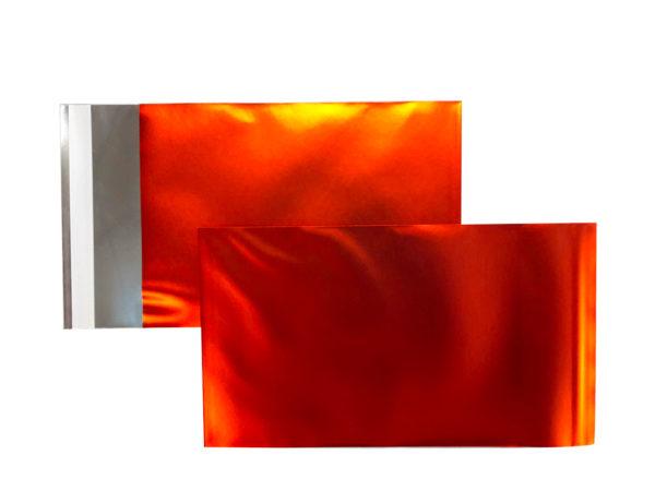Pochette Alu Mat C5 162x229 Orange