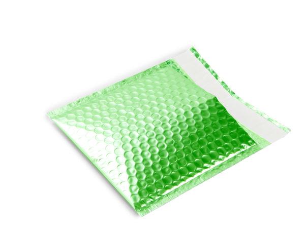 Pochettes bulles d'air mat vert
