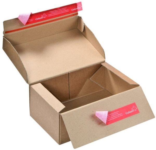 Pack de 2 boîtes d'expédition postale S 250x177x96mm